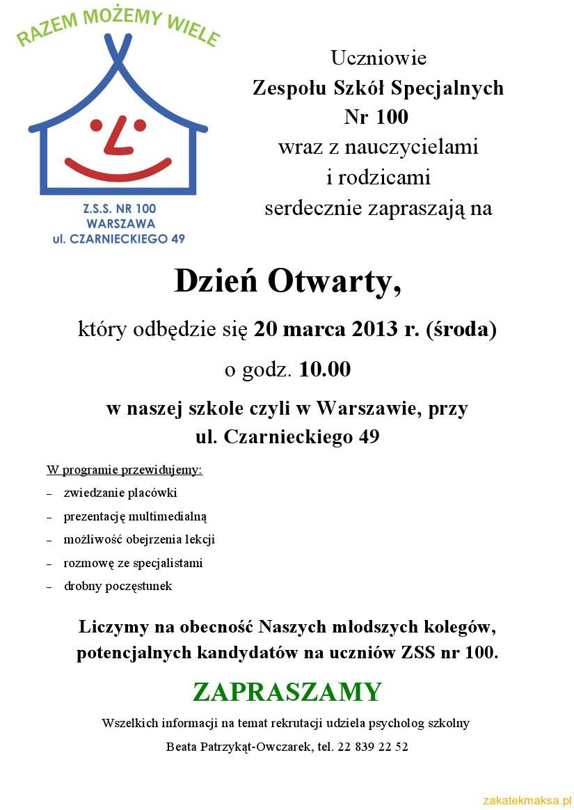 ZaproszenieNaDzien2013
